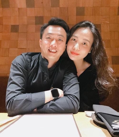 Cường Đô la khoe tăng cân vì bà xã Đàm Thu Trang nấu ăn quá ngon.