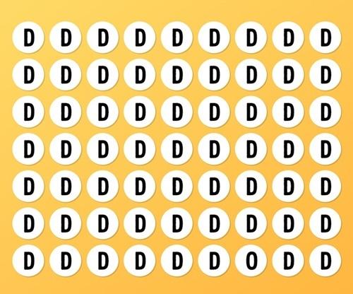 Bạn nhìn thấy bao nhiêu hình tròn? - 7
