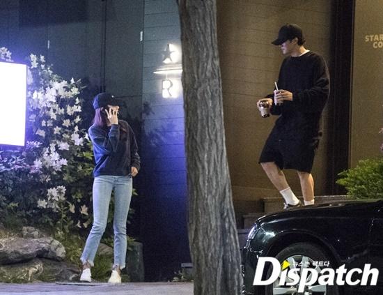 Buổi hẹn hò của So Ji Sub và Cho Eun Jung bị Dispatch bắt gặp.
