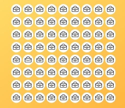Bạn nhìn thấy bao nhiêu hình tròn? - 9