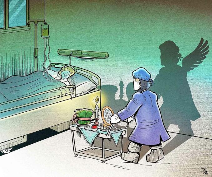 <p>Trong mắt mọi người, họ là những bác sĩ, y tá đang làm đúng chức năng, nhiệm vụ.Còn trong mắt bệnh nhân, họ là những thiên thần -người đang ngày đêm giành giật sự sống của người bệnh với tử thần.</p>