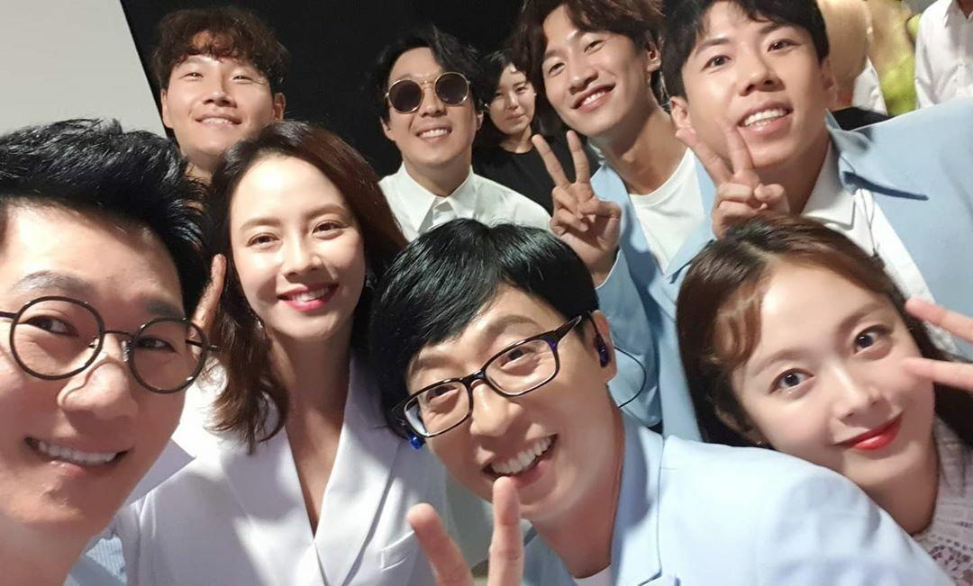 Các thành viên Running Man chúc mừng sinh nhật Jeon So Min.