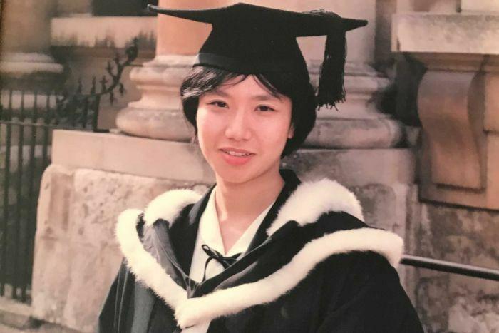 Rowena Chiu thời tốt nghiệp Đại học Oxford.