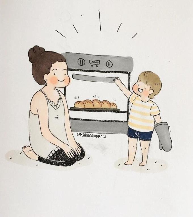 <p>Cũng vì bạn, mẹ luôn cố gắng thay đổi bản thân, luôn mong muốn những điều tốt đẹp nhất đến với con mình...</p>