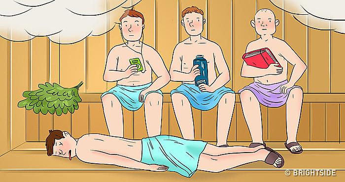 Quiz phá án: Vụ giết người trong phòng tắm hơi - 1