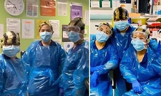 3 y tá Anh nhiễm nCoV vì dùng túi rác làm đồ bảo hộ