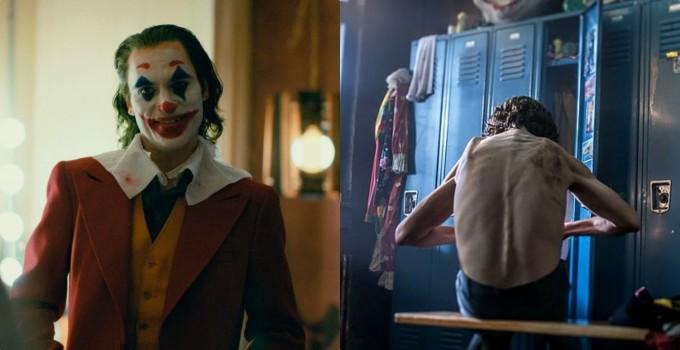 """<p><strong>Joaquin Phoenix - Joker</strong></p>  <p>Trong bộ phim giúp Joaquin Phoenix giành Oscar, <em>Joker</em>, nam diễn viên đã phải giảm tới 23 kg để có thân hình trơ xương. Việc giảm cân """"thần tốc"""" trong thời gian ngắnảnh hưởng đến tâm lý của Joaquin,giúp anh hóa thân thành gã hề tâm thần trong phim.</p>"""