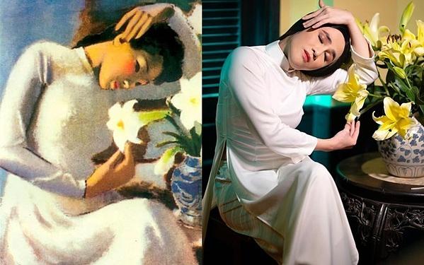 Huỳnh Lập khẳng định anh rất trân trọng và yêu thích tác phẩm của họa sĩ Tô Ngọc Vân.