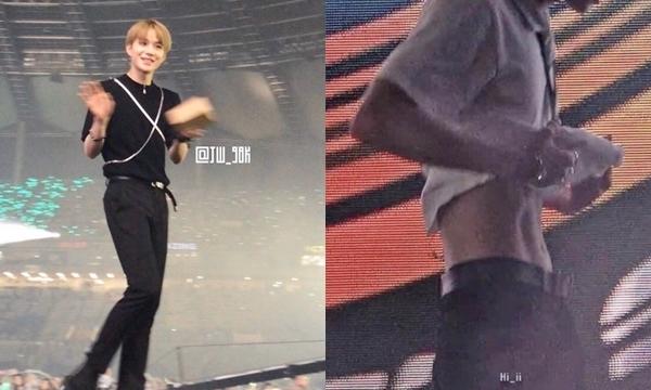 Netizen sốc trước thân hình ''mỏng như lá lúa'' của các idol nam