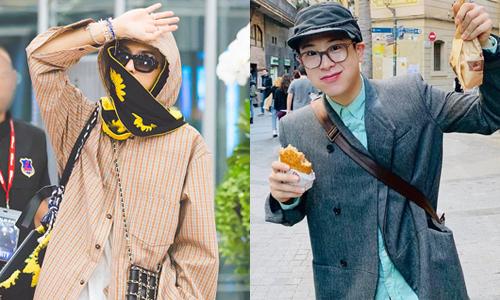 Phong cách ''trái dấu'' thú vị của đôi bạn thân Mino - P.O
