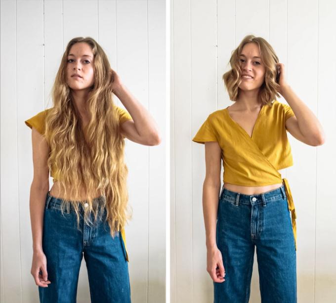 """<p class=""""Normal"""">Đừng tiếc mái tóc dài nếu chúng khôngthực sự phù hợp với gương mặt.</p>"""