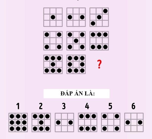 5 bài kiểm tra IQ dành cho bộ não nhanh nhạy - 4