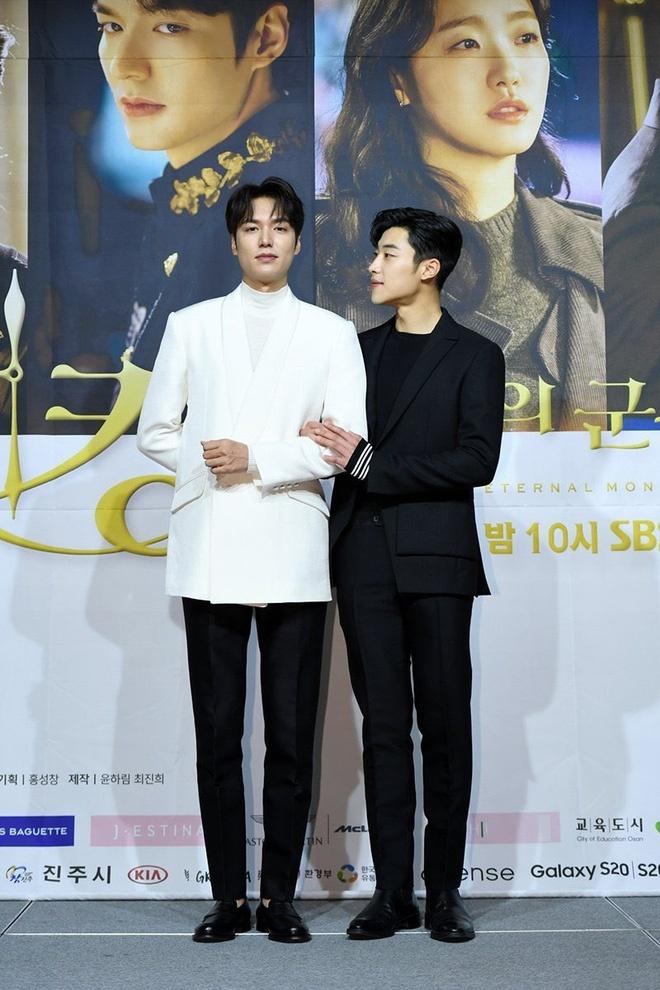Lee Min Ho tình tứ với nam phụ trong họp báo Quân vương bất diệt - 14