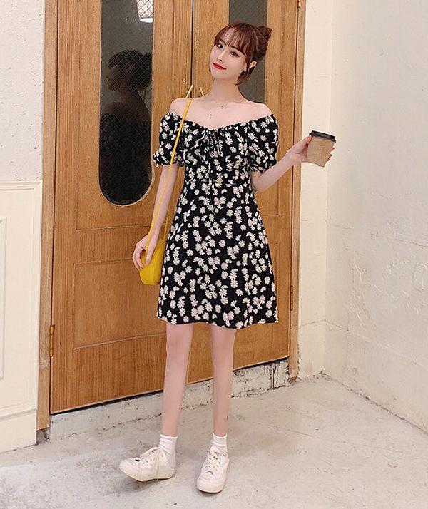 Váy hoa cúc xinh như Rosé là hot trend phải có hè này - 16
