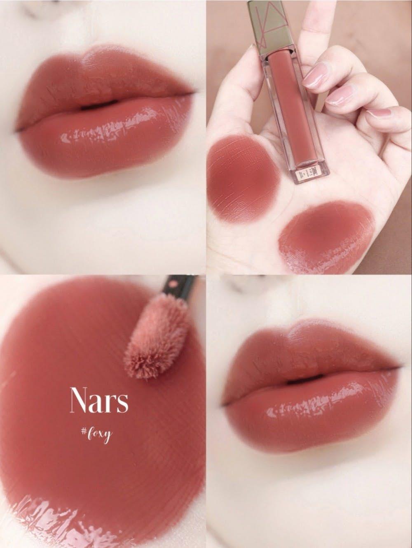 Cùng đi theo xu hướng tông hồng kem bơ ngọt ngào nhìn là muốn cắn,NARS Loaded Lip Lacquer