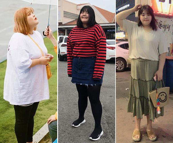 Trước đây, Yang Soo Bin vốn đã có phong cách ăn mặc đáng yêu. Tuy nhiên vóc dáng phì nhiêu khiến cô khó chinh phục nhiều kiểu đồ, khi mặc lên cũng lộ khuyết điểm.