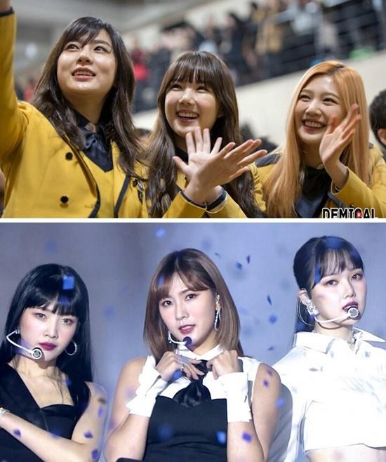 Hội 96-line hay hội bạn trường SOPA gồm Ha Young (Apink), Ye Rin (GFriend) và Joy (Red Velvet). Tình bạn của bộ ba OhJungPark cực kỳ khăng khít. Ba nữ idol không ít lần đứng chung sân khấu, tham gia cùng show và đồng lòng ủng hộ dự án của nhau.