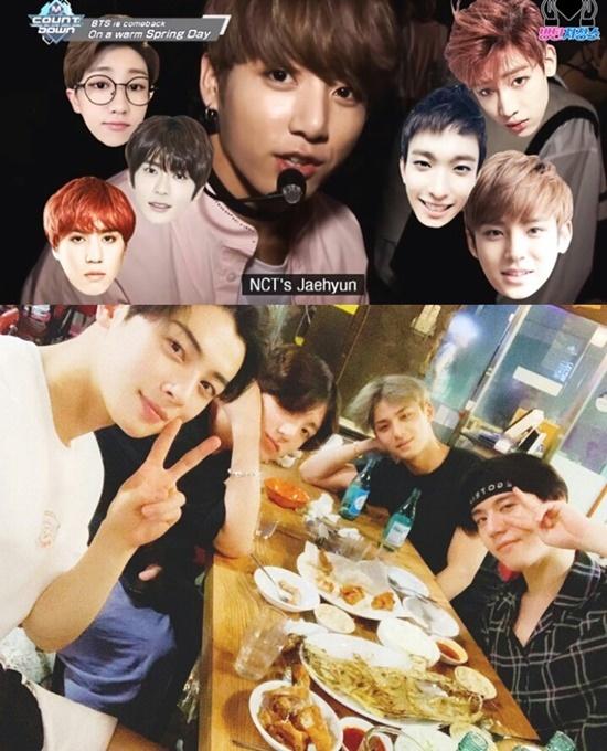 Hội 97-line hội tụ toàn visual nổi bật của Kpop như Jung Kook (BTS); Cha Eun Woo (Astro); Jae Hyun (NCT); Bambam và Yu Gyeom (GOT7); The8, Min Gyu và DK (Seventeen). 8 mỹ nam này chưa từng xuất hiện cùng một khung hình, điều fan biết chỉ là qua tiết lộ của Jung Kook rằng họ ở cùng một group chat có tên Hội bạn 97.