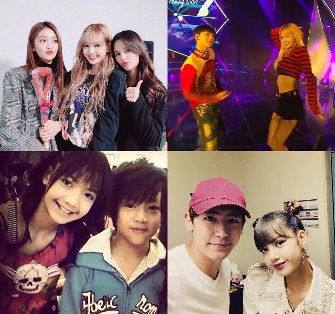 Hội đồng hương Thái Lan gồm Nick Khun (2PM), Bambam (GOT7), Ten (NCT), Lisa (Black Pink), Sorn (CLC) và Minnie (G)I-DLE đều là những dancer có tiếng của Kpop. Trong đó, ba cô nàng Lisa, Sorn và Minnie thường tụ họp, chia sẻ về sự nghiệp và cuộc sống mỗi khi có cơ hội.