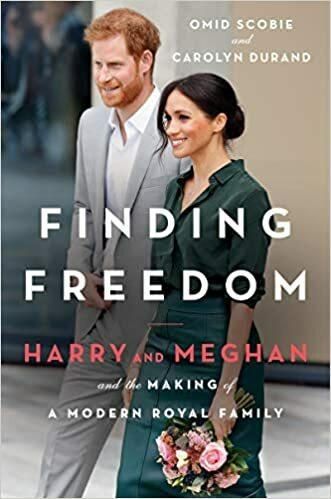 Bìa cuốn tiểu sử Finding Freedom của Harry và Meghan.