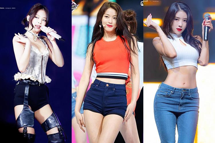 Jennie (Black Pink), Seol Hyun (AOA), Min Joo (Lovelyz) cũng là những idol có đường cong nuột giống Joy. Tuy nhiên thân hình này cũng có nhược điểm là khung xương to, đặc biệt rất dễ tăng cân nếu không kiêng khem kỹ càng. Thực tế nhiều idol và Joy cũng thường xuyên rơi vào tình trạng cân nặng lên xuống thất thường.
