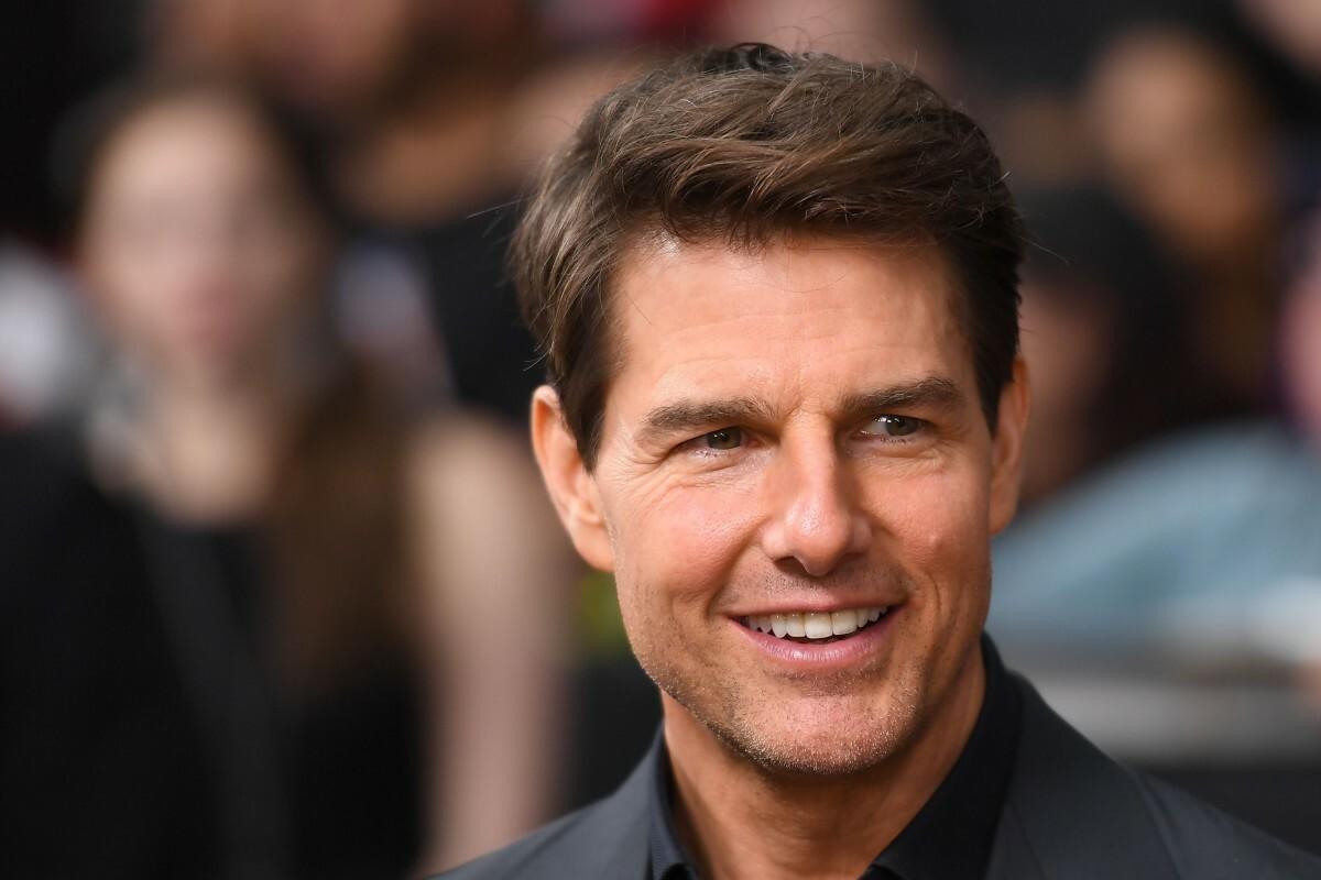 Tài tử Tom Cruise. Ảnh: AFP.
