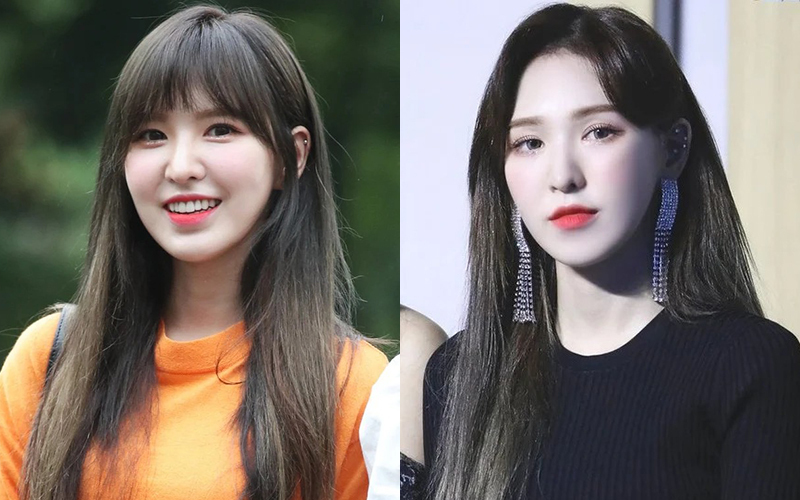 Wendy vốn thích để tóc mái trẻ xinh, vì thế khi cô nàng chuyển qua tóc mái dài, người hâm mộ khác biệt vì trông nữ idol như một người hoàn toàn mới. Mái tóc gợn sóng giúp Wendy trông thanh thoát hơn, thần thái cũng thêm phần sang chảnh.