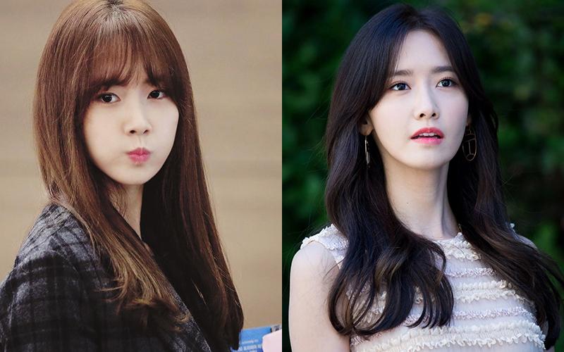 Để tóc mái ngang lông mày, Yoona trông chẳng khác gì nữ sinh trung học. Chỉ bằng cách vén gọn tóc mái, người đẹp lập tức trở thành thần tiên tỷ tỷ.