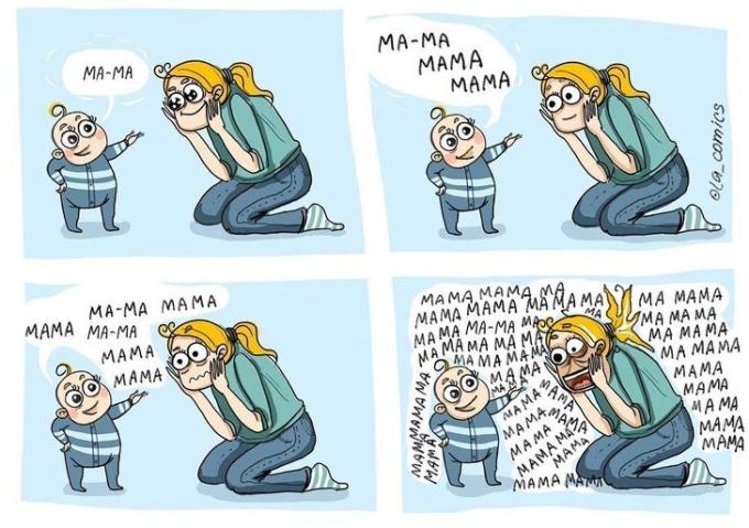 """<p>Tiếng gọi """"Mẹ"""" lúc nào cũng khiến cácmẹ xúc động, nhưng đôi khi quá nhiều cũng trở thành nỗi ám ảnh.</p>"""