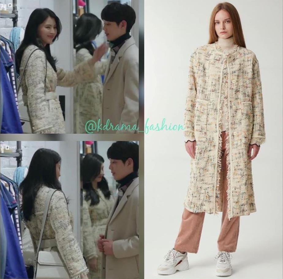 So vói bộ sưu tập áo khoác đồ sộ, đa dạng mẫu mã của bà cả Sun Woo, nàng tiểu tam khó lòng đọ được khoản thời trang.
