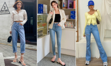 Cách chọn 6 kiểu quần jeans hợp với từng dáng người