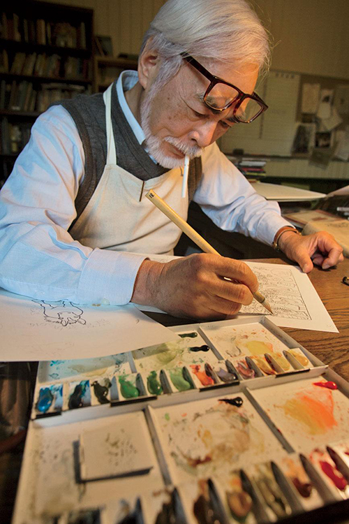 Hayao Miyazaki. Ảnh: Hiroji Kubota.