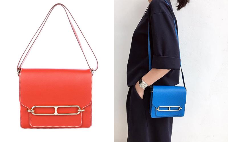 Được giới thiệu trong bộ sưu tập xuân hè 2011, Roulis được coi là mẫu túi chị em của Constance. Mặt khóa phía trước túi được cách điệu từ biểu tượng khóa Chain d'Ancre đặc trưng của Hermès. Khóa Chain d'Ancre lấy cảm hứng từ những dây xích mỏ neo – một trong những kiểu dáng phức tạp và mang tính biểu tượng của thương hiệu.