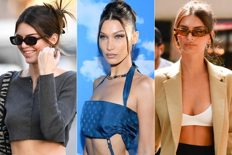 Tóc búi gập vừa gọn gàng vừa sang chảnh là kiểu tóc được hàng loạt mỹ nhân Hollywood lăng xê gần đây. Mái tóc búi gọn, phía trước lưa thưa vài sợi tóc mai phóng khoáng gắn liền với phong cách của các It Girls như Kendall Jenner, Bella Hadid, Emily Ratajkowski...