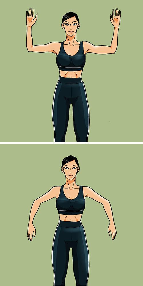 Cách giảm size bắp tay đơn giản