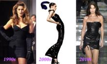 Vẻ đẹp khác biệt của ba thế hệ siêu mẫu thế giới