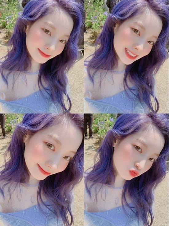 Da Hyun (Twice) khoe mái tóc  như tiên tử trong teaser ca khúc mới.