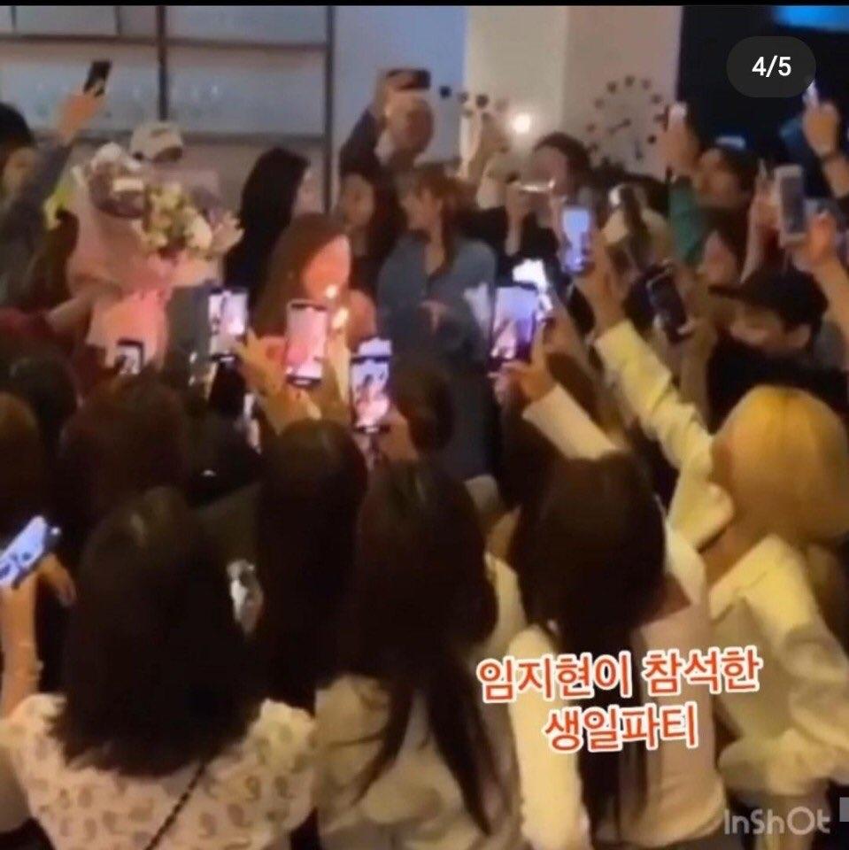 Quang cảnh diễn ra bữa tiệc nơi Hyo Min (T-ara), Lee Min Jung, Lee Joo Yeon... có mặt hôm 9/5.