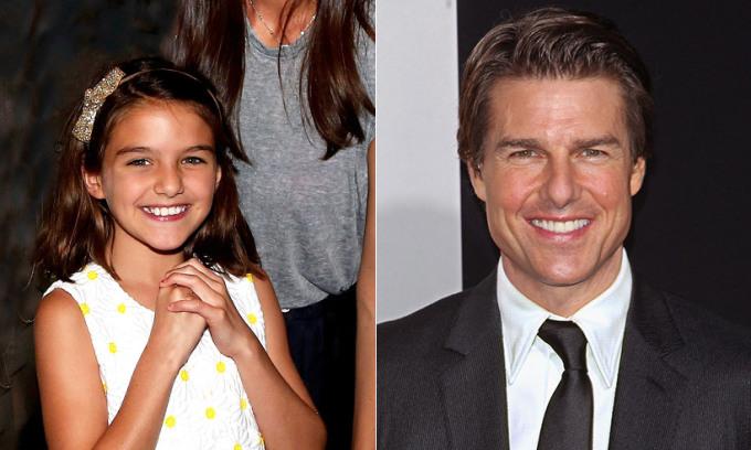 """<p>Là con gái của Tom Cruise và Katie Holmes nên từ khi chào đời, Suri đã được làm quen với ánh đèn flash và tiếngbước chân theo đuổi. Cô bé được truyền thông ca ngợi là """"thiên thần nhỏ"""", """"công chúa Hollywood""""...</p>  <p>Tuy nhiên sau cuộc ly hôn của bố mẹ, tiểu thư nhà Cruise sống vớiKatie,trở thành một bé gái bình thường, ăn vận giản dị và không còn là tâm điểm của cánh săn ảnh.</p>"""