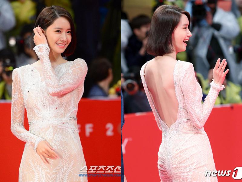 Yoona từng gây xôn xao trong lầnLiên hoan phim Quốc tế Busan