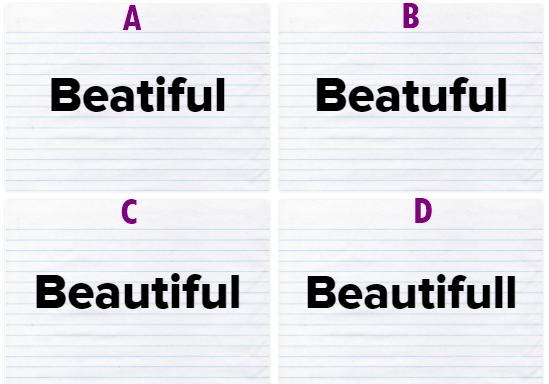 Đố bạn đánh vần 15 từ vựng tiếng Anh dễ sai nhất