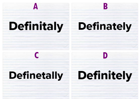 Đố bạn đánh vần 15 từ vựng tiếng Anh dễ sai nhất - 10