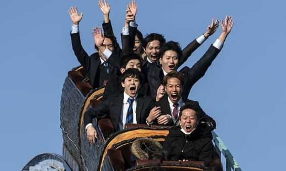 Công viên Nhật Bản cấm khách la hét khi chơi tàu lượn siêu tốc