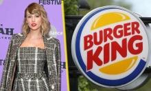 Burger King 'lên thớt' vì dám chọc giận fan Taylor Swift