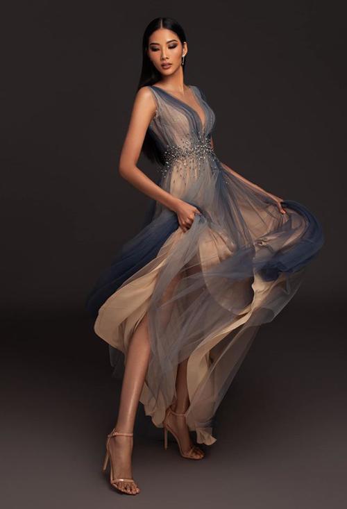 Hoàng Thùy tung váy duyên dáng trong bộ ảnh mới.