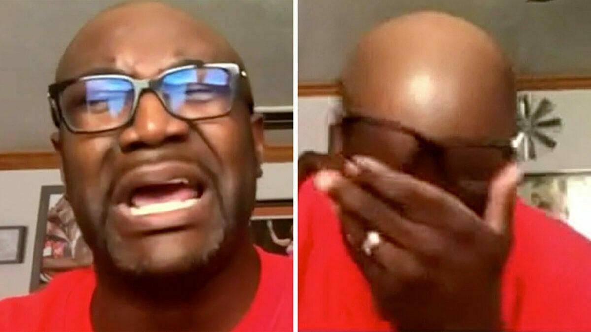 Anh trai của George Floyd bật khóc trong cuộc phỏng vấn với MSNBC.
