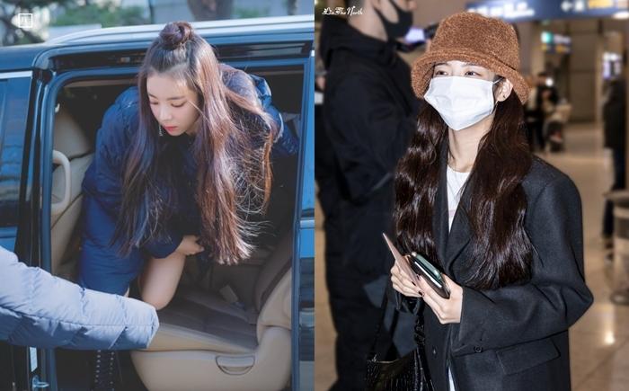 Từ khi mới debut, Lia đã nổi tiếng với mái tóc dài, dày, suôn mượt.