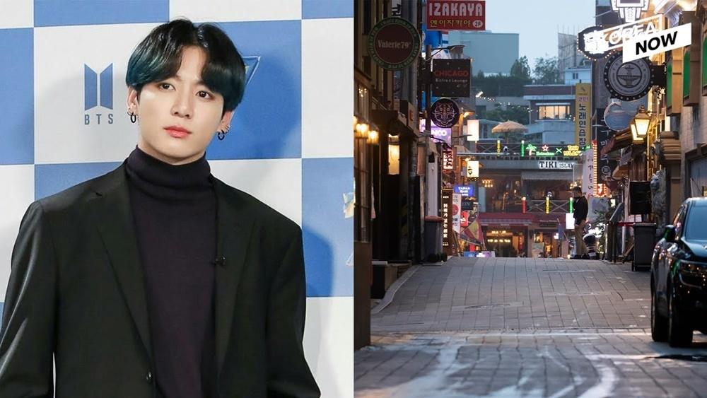 Jung Kook gây tranh cãi vì đi club ở Itaewon.