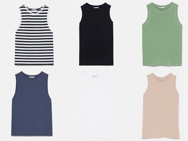 Thiết kế 100% cotton có giá chỉ 230k sẽ là lựa chọn lý tưởng cho những cô nàng thích phong cách sporty. Chiếc áo này giúp bạn có diện mạo khỏe khoắn từ đi chơi đến lúc tập gym.