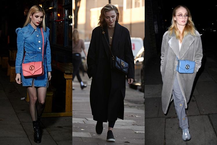 Dòng túi It Bag này còn được hàng loạt sao Âu Mỹ như Emma Robers, Chloe Moretz, Sophie Turner... lăng xê với nhiều màu sắc khác nhau.